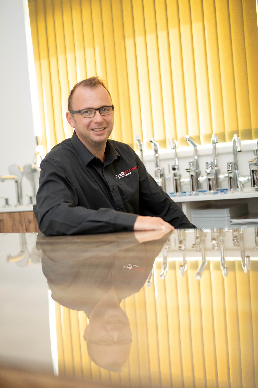 Johannes Strommer, Geschäftsführer vom Team Strommer Insatllationen in Söding