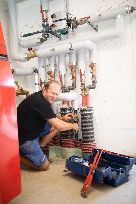 Der Sanitär-Notfalldienst für Ihre Heizung vom Team Strommer Installation in Söding.